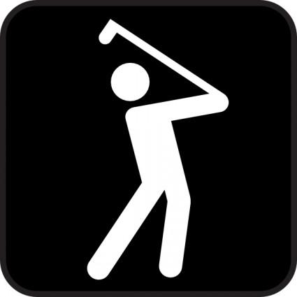 golf%20club%20clip%20art%20black%20and%20white