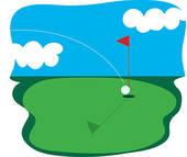 Golf Green Clip Art | Clipart Panda - Free Clipart Images