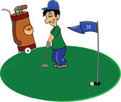 Golf Putting Clip Art Black And White | Clipart Panda ...