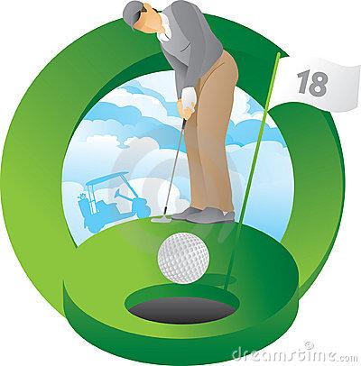 Golf Putting Green Clip Art | Clipart Panda - Free Clipart ...