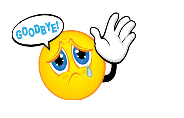 Image result for goodbye clipart