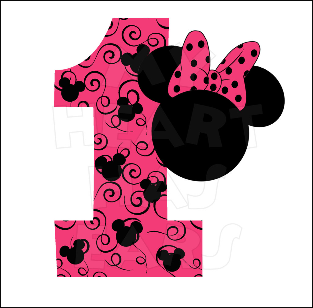 Baby Mickey Mouse 1st Birthday Clip Art | Clipart Panda ...