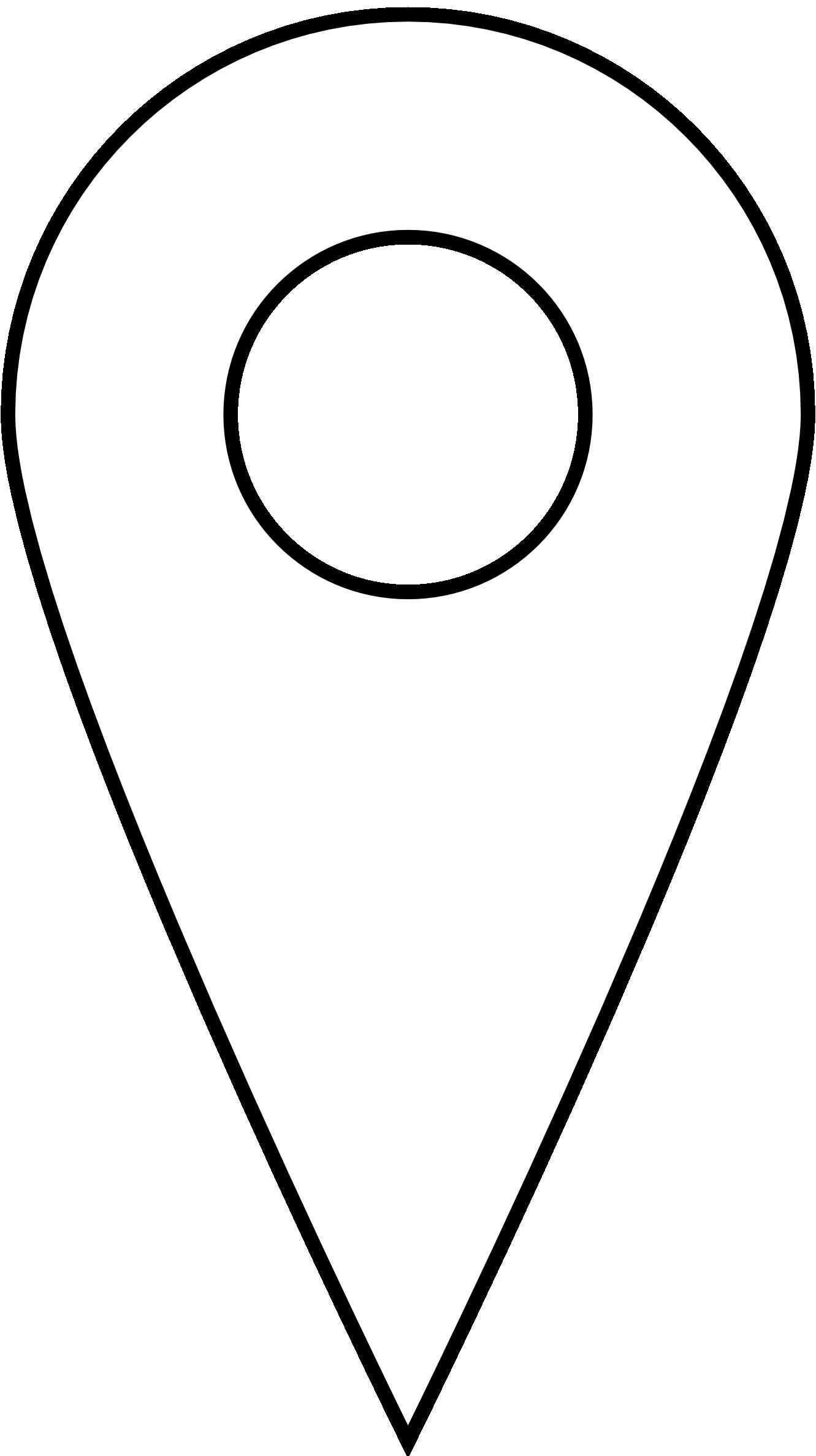 map location symbol