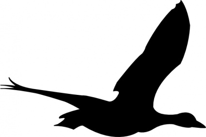 Flying bird cartoon black and white - photo#49
