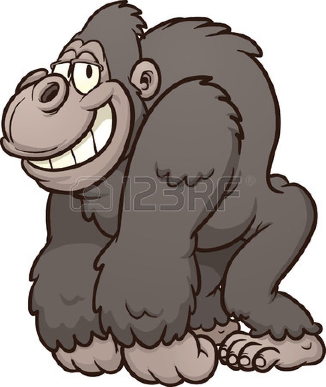 Clip Art Gorilla Clip Art gorilla clip art cartoon clipart panda free images art