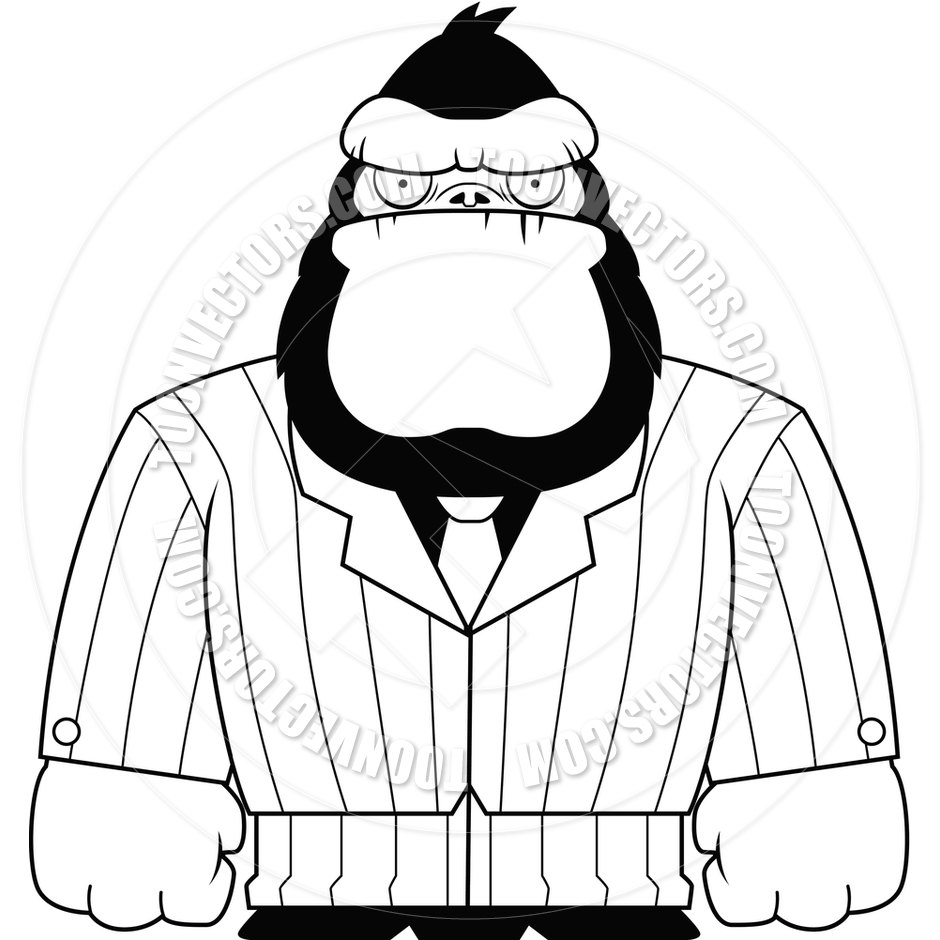 Gorilla Suit (Black and White | Clipart Panda - Free ...