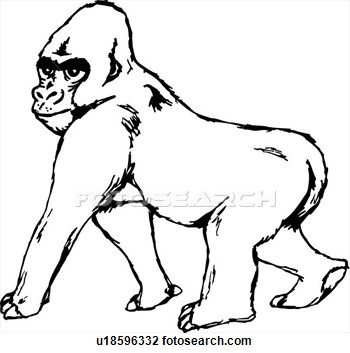 Gorilla Clipart | Clipart Panda - Free Clipart Images