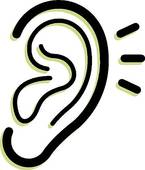 Hearing aid clipart clipart panda free clipart images - Clipart oreille ...