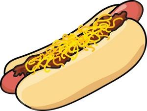 hotdog and hamburger clipart clipart panda free clipart images gourmet clipart tasty_chili_cheese_dog_hot_dog_on_a_bun_0515