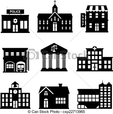 Government clip art for kids clipart panda free for Building drawing online
