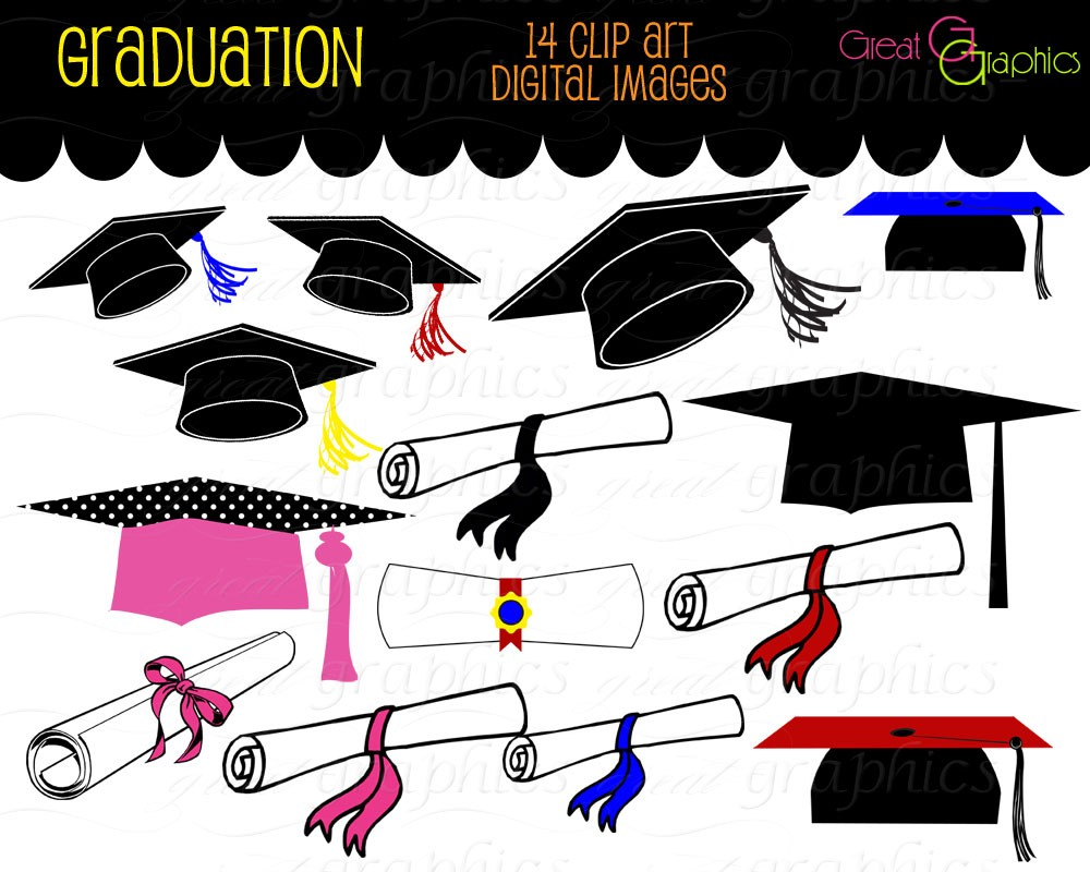 photograph relating to Printable Graduation Decorations referred to as Commencement Clip Artwork Cost-free Printable Clipart Panda - Cost-free