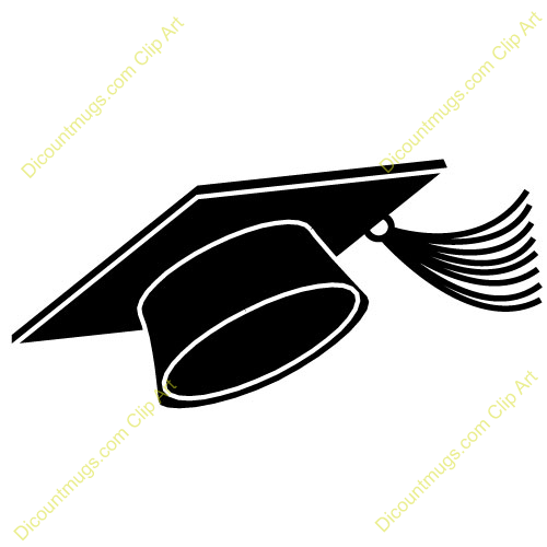 Graduation Party Clip Art Black And White | Clipart Panda ...