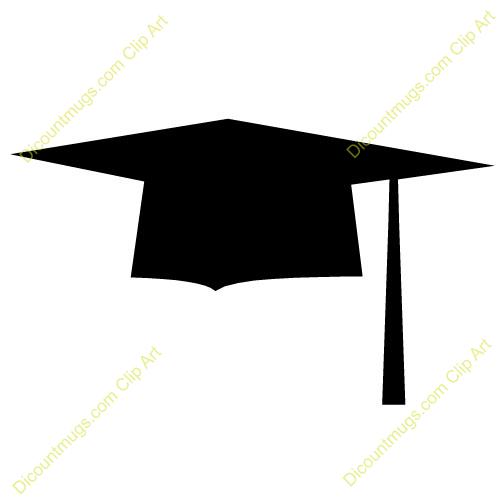 Green Graduation Cap White Tassel Clip Art at Clker.com vector clip ...