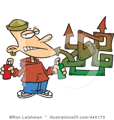 граффити клипарт: