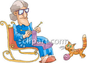 Clip Art Knitting Clipart grandmother knitting clipart panda free images