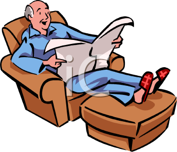 Reading Newspaper Clipart | Clipart Panda - Free Clipart ...