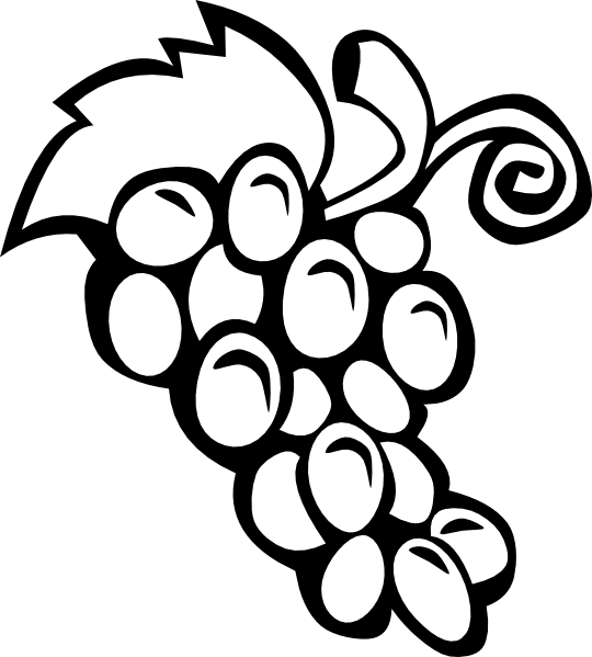 grapes clipart black and white. clipart info grapes black and white g