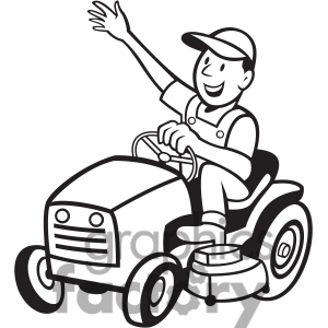 Tractor Clipart Black And White | Clipart Panda - Free Clipart Images