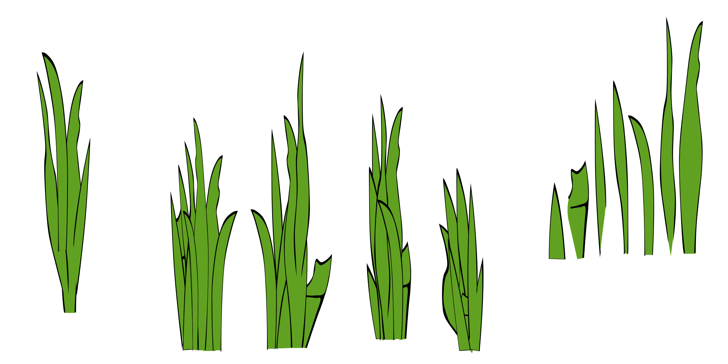 Grass outline border clipart panda free clipart images for Tall border grass