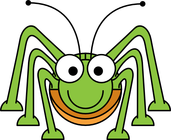 Green Grasshopper | Clipart Panda - 76.7KB
