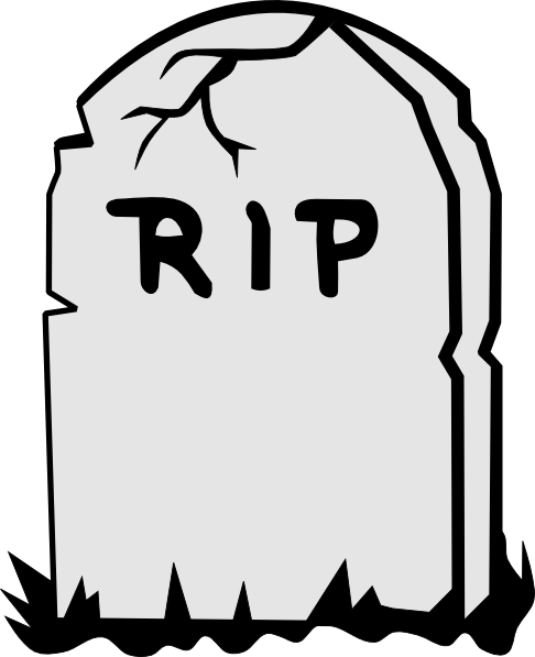 Rip Tombstone clip art | Clipart Panda - Free Clipart Images