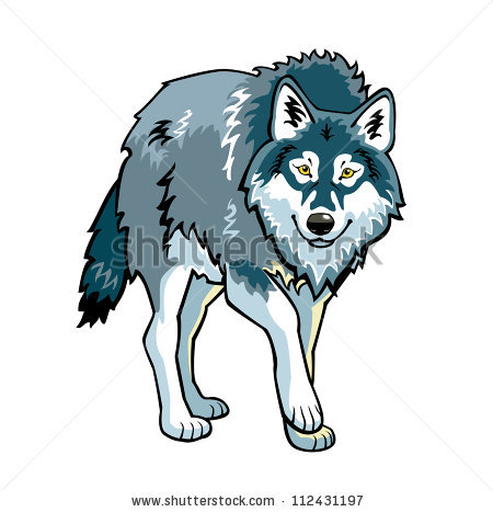 wolf vector picture standing clipart panda free clipart images rh clipartpanda com wolf clip art silhouette wolf clip art black and white