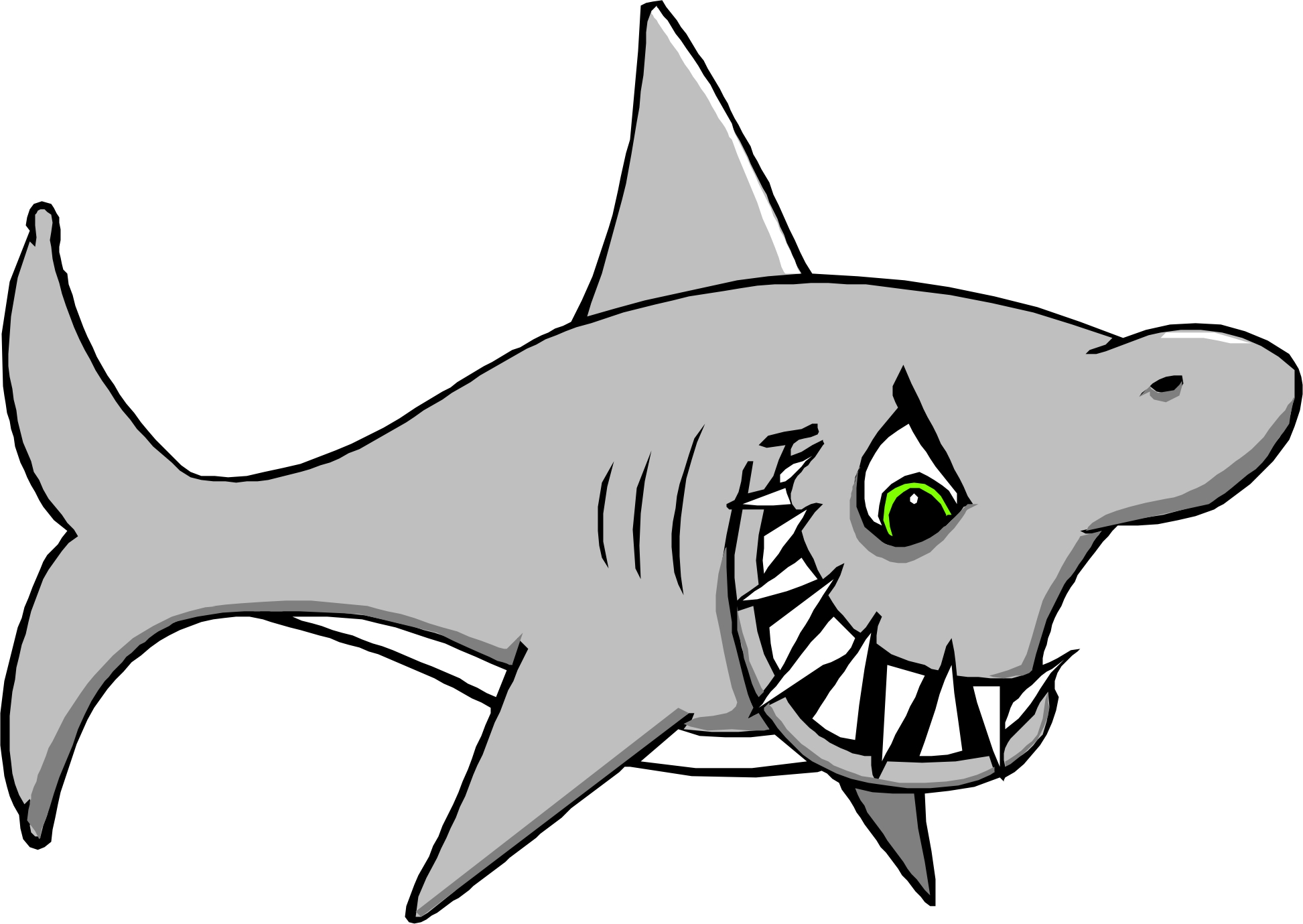 Great White Shark Clip Art | Clipart Panda - Free Clipart Images