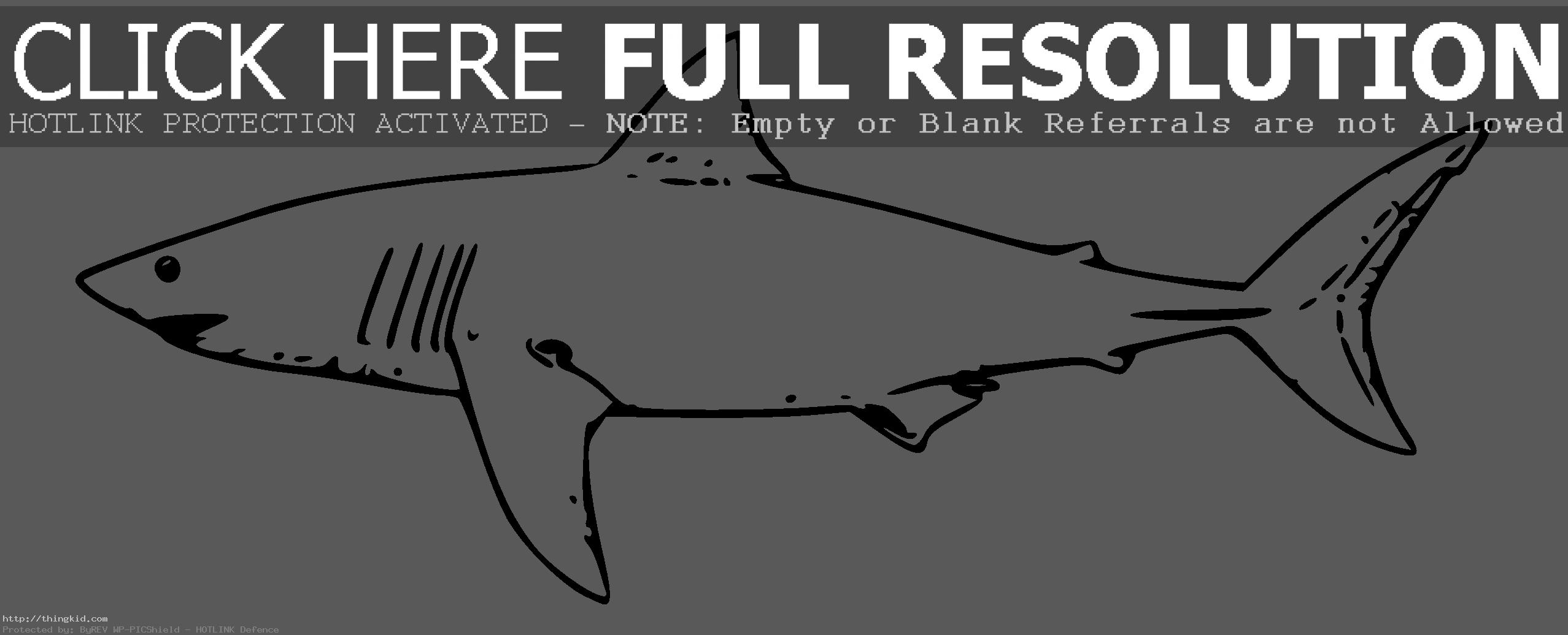 Great White Shark Coloring Pages | Clipart Panda - Free Clipart Images