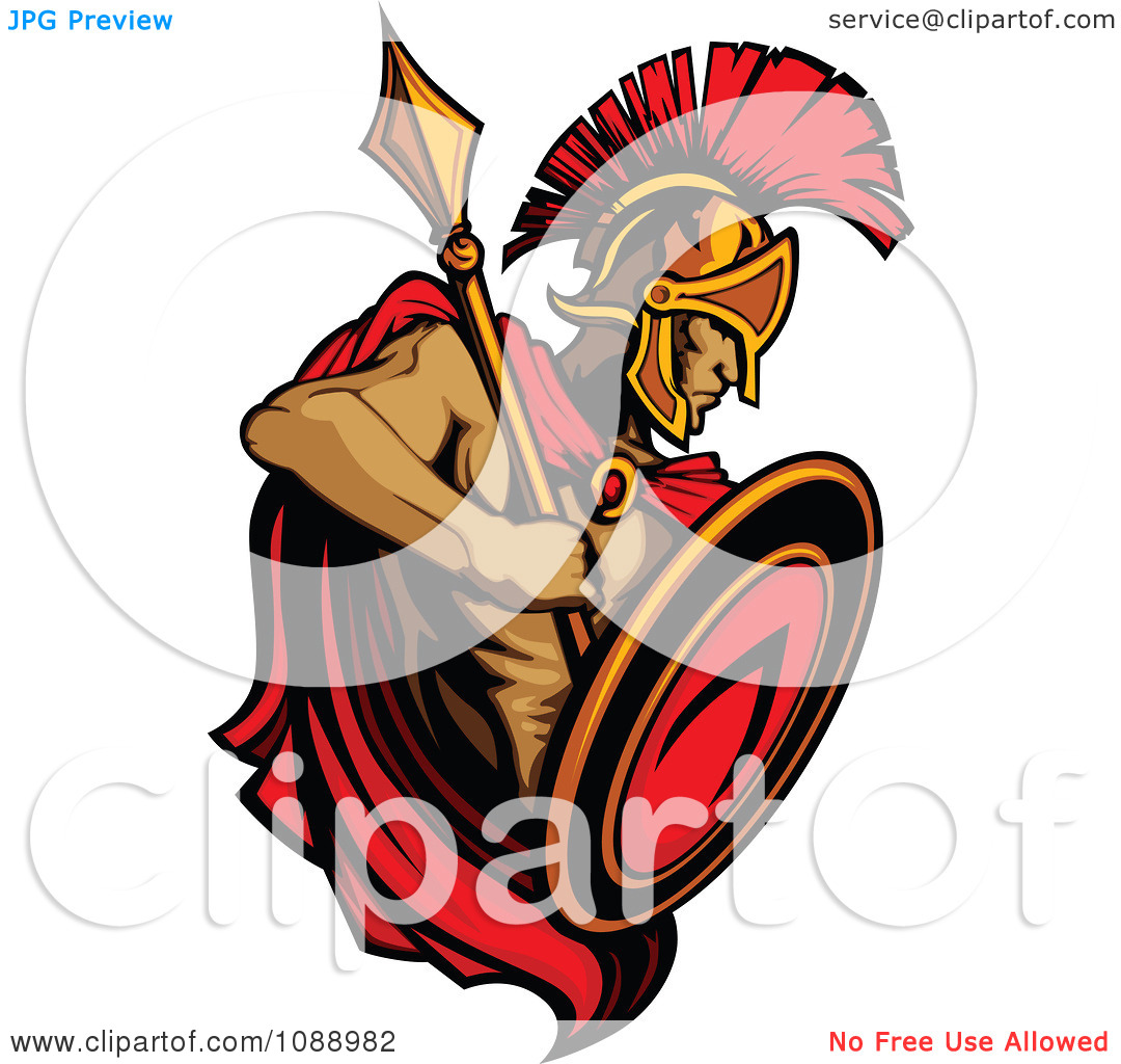 -shield-clipart-Clipart-Alert-Spartan-Roman-Warrior-Holding-A-Shield    Spartan Shield Clipart