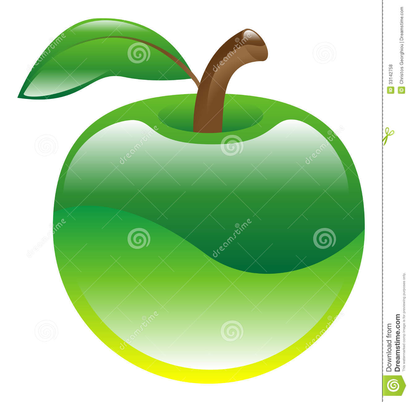 green%20apple%20clipart