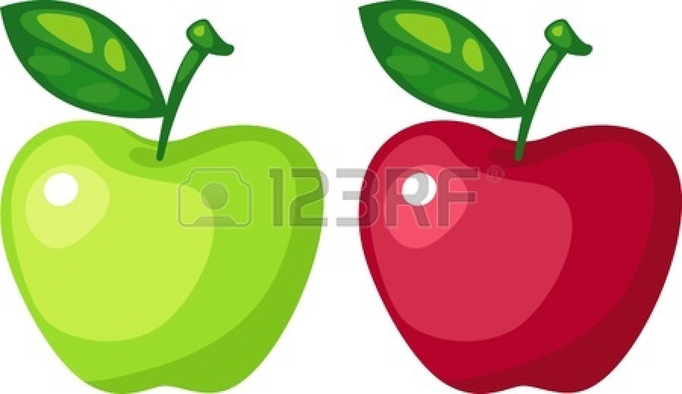 Green apples clipart images amp pictures becuo - Green 20apple 20vector