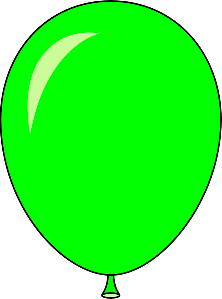 Green Balloon Clipart Clipart Panda Free Clipart Images