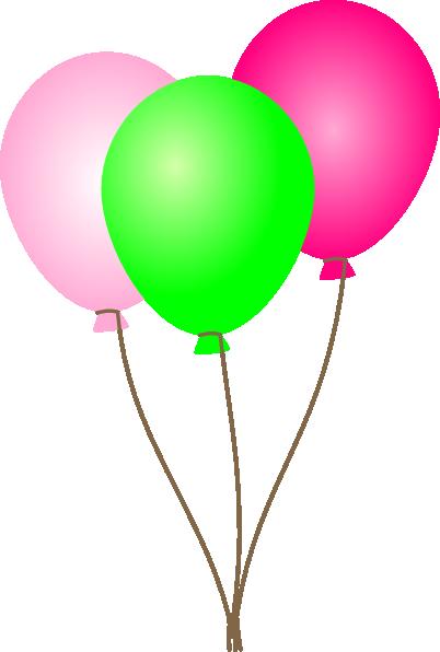 pink green balloons clip art clipart panda free clipart images rh clipartpanda com balloons clip art transparent background balloons clip art free