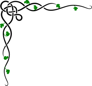 Dark Green Border Design