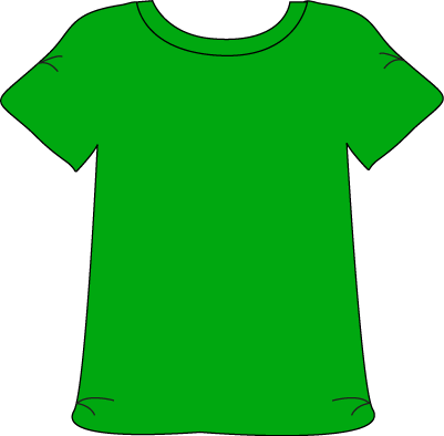 Green 20clipart clipart panda free clipart images for Bright green t shirt dress