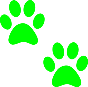 Red Cat Paw Gif