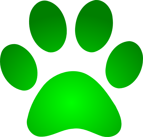 green dog clipart - photo #10