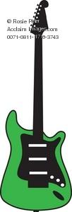 Green Electric Guitar Clip Art | Clipart Panda - Free Clipart Images