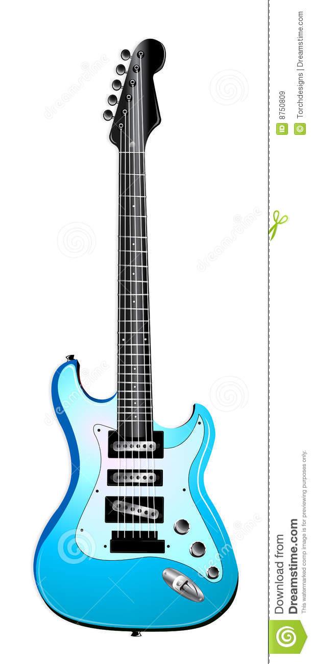Blue Guitar Clip Art | Clipart Panda - Free Clipart Images