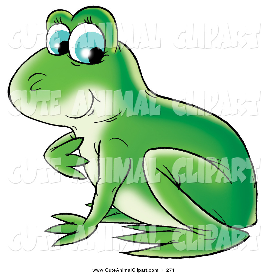 green frog clipart - photo #26