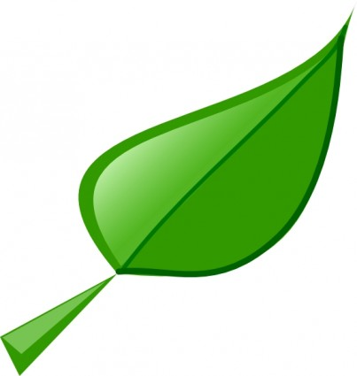 free clipart green leaf - photo #9