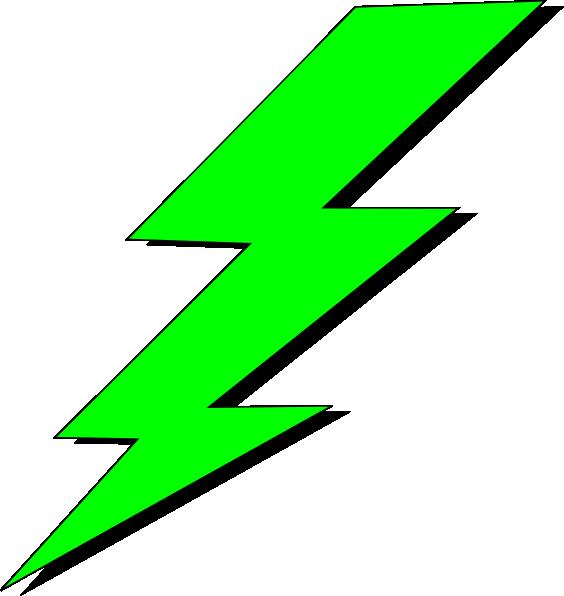 Green Lighting Bolt Clipart Panda Free Clipart Images