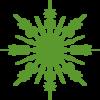 green%20snowflake%20clipart
