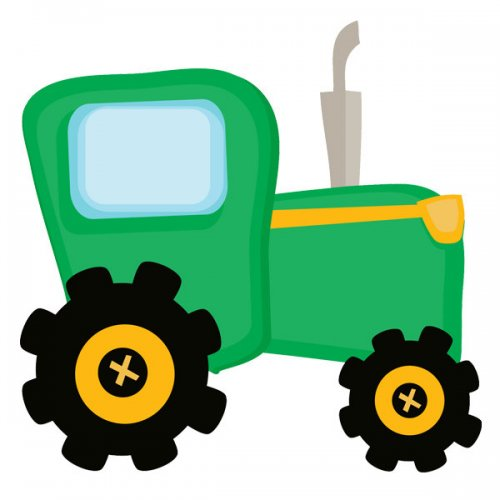 Green Tractor Clipart | Clipart Panda - Free Clipart Images