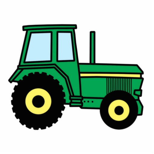 Drawing Man On Tractor : Green tractor art clipart panda free images