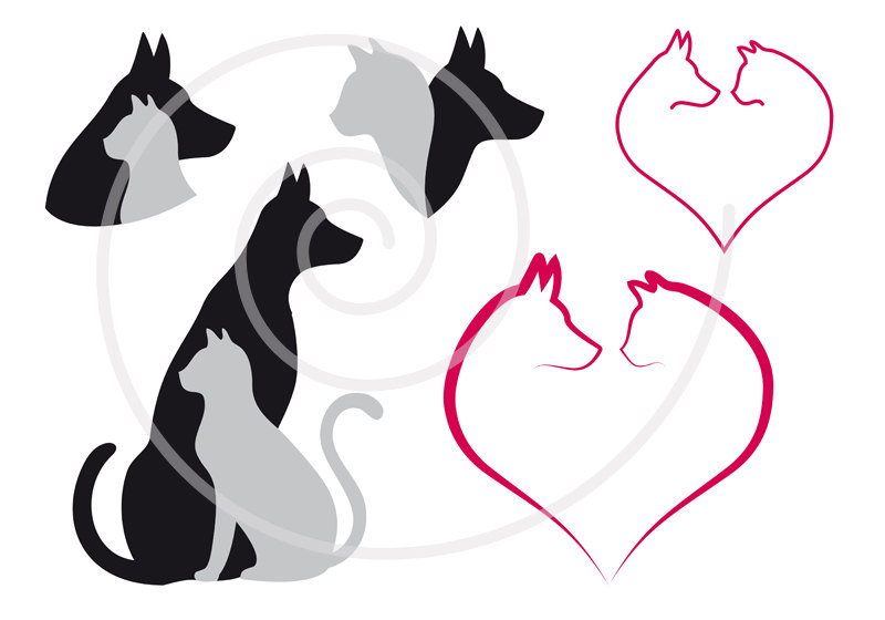 Dog And Cat Clip Art Clipart Panda Free Clipart Images