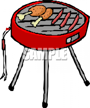 Bbq Food Clipart Black And White | Clipart Panda - Free ...