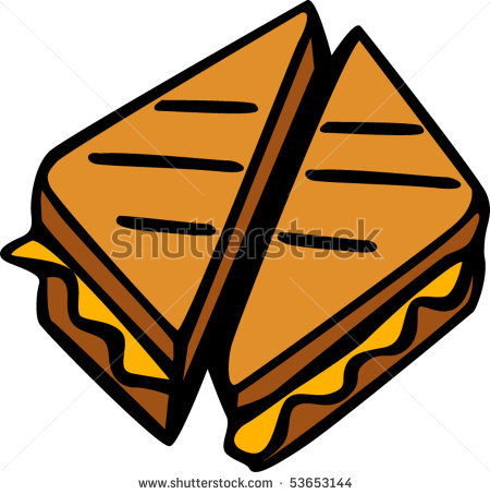 Grilled Cheese Sandwich Clipart | Clipart Panda - Free ...