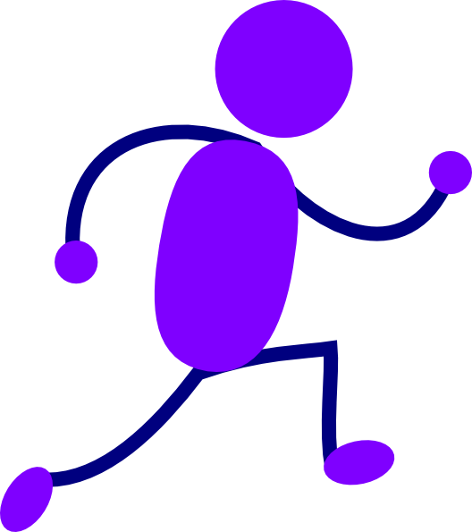 purple running man clip art clipart panda free clipart images rh clipartpanda com running stickman clipart running man clipart png