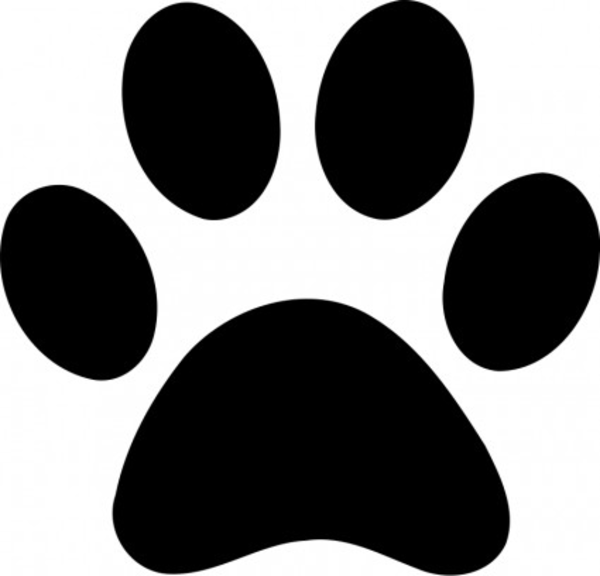 teddy bear paw print clip art - photo #50